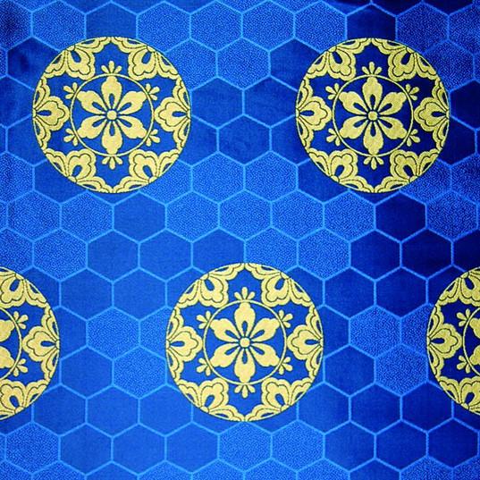KG-23-2 亀甲砂子に六つ花菱