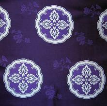 SG-3 枝菊散しに窠紋 紫