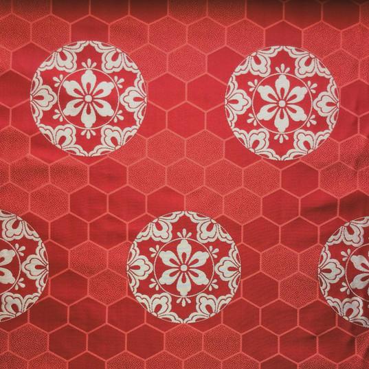 KG-23-1 亀甲砂子に六つ花菱