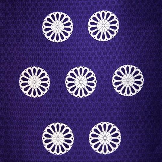 KK-06-1 亀甲に菊の丸
