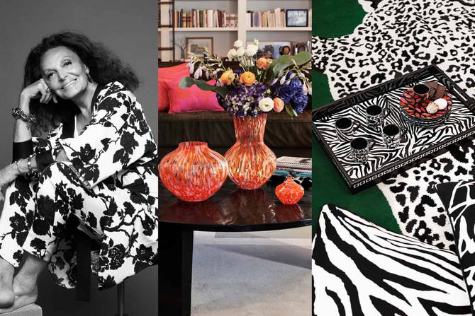 Art & Design: Wishlists At The Ready! See The DVF X H&M Home Collection Here