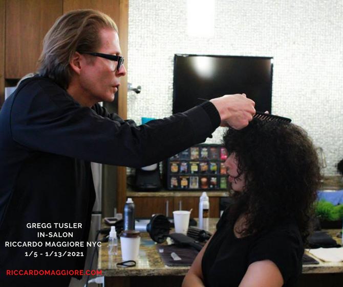 Gregg Tusler In-Salon