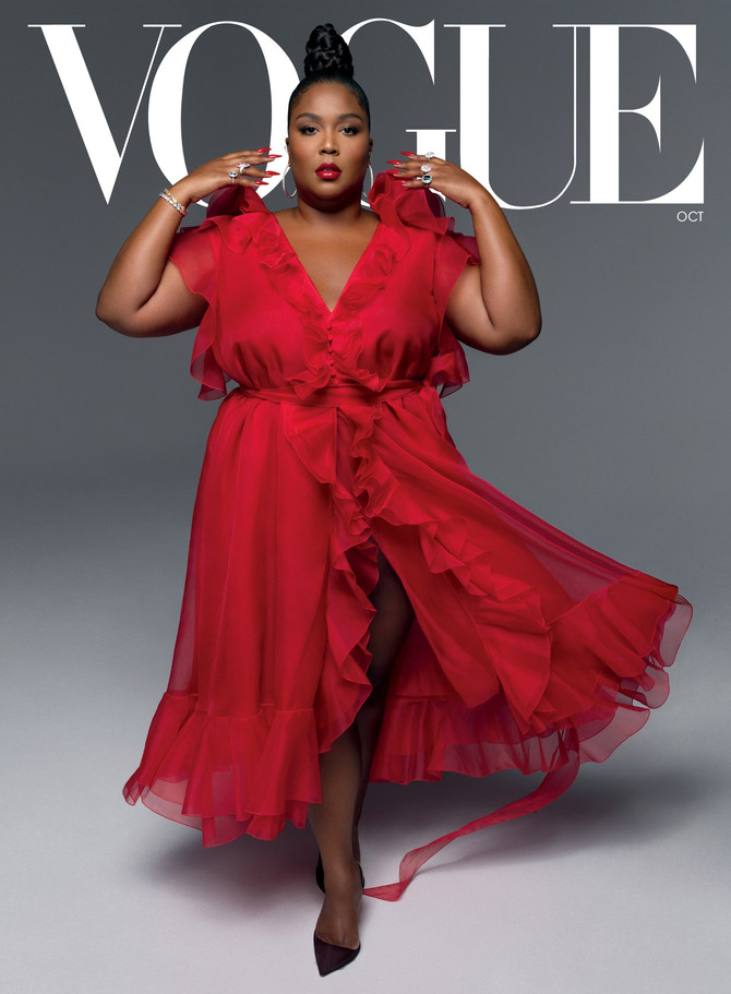 VOGUE: LIZZO on HOPE, JUSTICE, and the ELECTION-