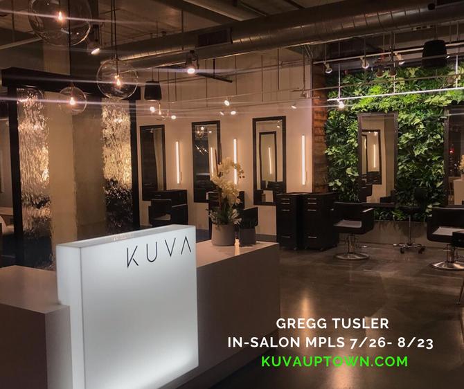 Gregg Tusler In-Salon MPLS 7/26 - 8/23