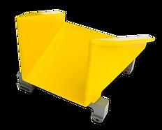 QUICK CHANGE PRODUCTCARRIER, Jones Cartoner Bucket, Molded Polyurethane, Coesia Cartoner, Horizontal Cartoning, Static Base, Interchageable Bucket