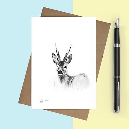 'Roe Buck' Card