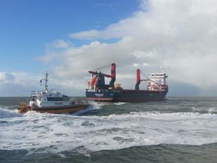 mv Nordana Sea - Maiden Voyage - Departure Delfzijl
