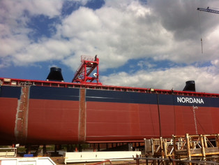 mv Nordana Star - Building Progress