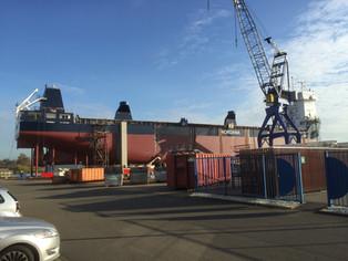 mv Nordana Sea - Building Progress