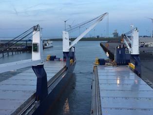 New Build vessel Symphony Provider and Symphony Performer @ Eemshaven (The Netherlands)