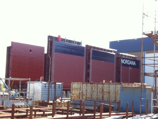 mv Nordana Sea - Building Progress