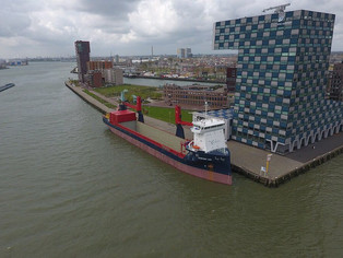 mv Symphony Sun in Open Top Condition @ Lloydkade in Rotterdam (The Netherlands)