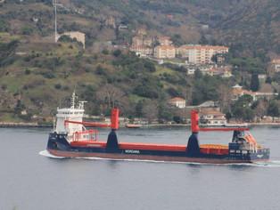 mv Nordana Sky - Bosphorus