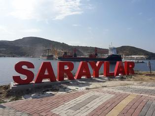 mv Symphony Sun @Saraylar, Turkey
