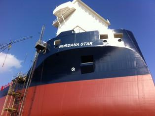 mv Nordana Star - Building Progress
