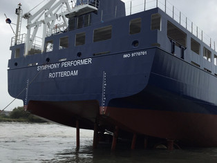 Proud to present the launch of the mv Symphony Performer