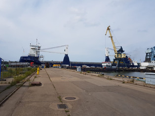 mv Symphony Performer mobilizing for her new project @klaipeda, Lithuania