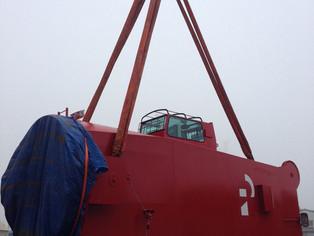 mv Nordana Sea - Cranes