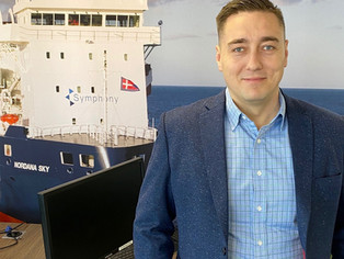 Symphony Shipping is delighted to congratulate our Fleet Manager Mr Vadim Jefimov