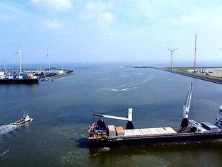 Today we are in the Port of Eemshaven, NL to conduct Dynamic Positioning Trials