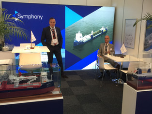 Symphony present at the Offshore Energy exhibition visit us at stand 1526 @RAI, Amsterdam
