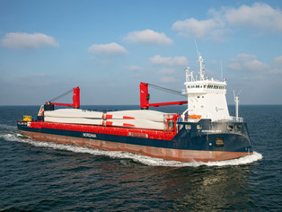 mv Nordana Sea - TSS off Texel (The Netherlands)