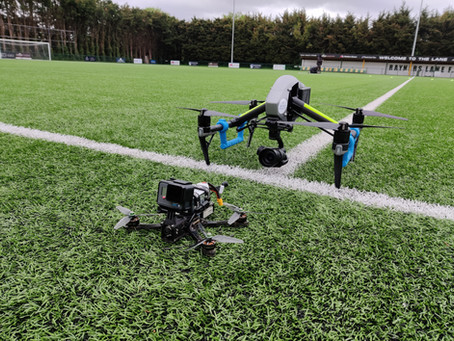 FPV and Inspire 2 for England Football League x Puma Commercial