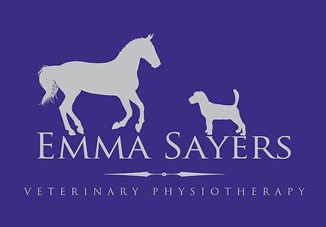 Horse dog logo physiotherapy