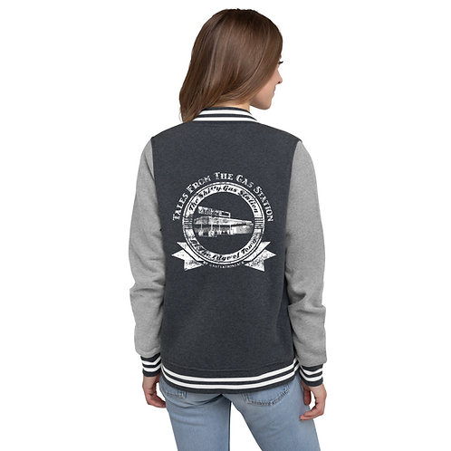 Tales from the Gas Station Letterman Jacket (Women's)