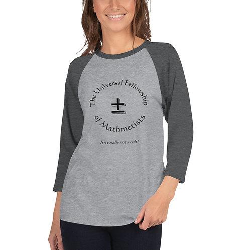 Mathmetist Shirt (3/4 Sleeve Raglan)