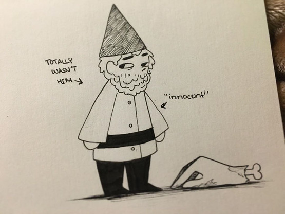 Green hat gnome