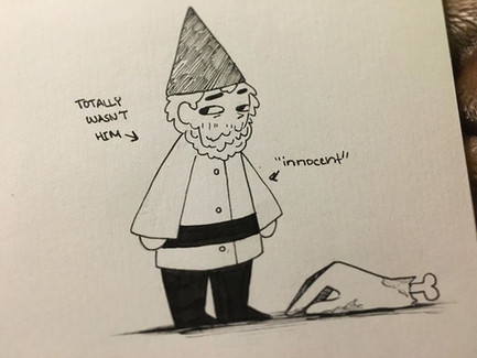 Green hat gnome