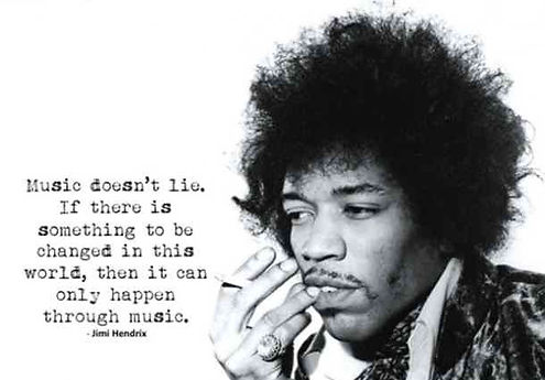 jimi hendrix, music quote, change, music, Elektrik Fantasy, green festival, sustainable, plastic-free, benefit festival, jimi hendrix quotes