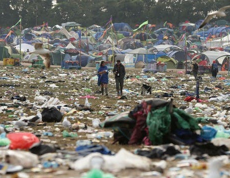 Trashed: Music Festivals Are Environmental Disasters