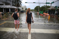 Miami Beach after just 1 day of rain