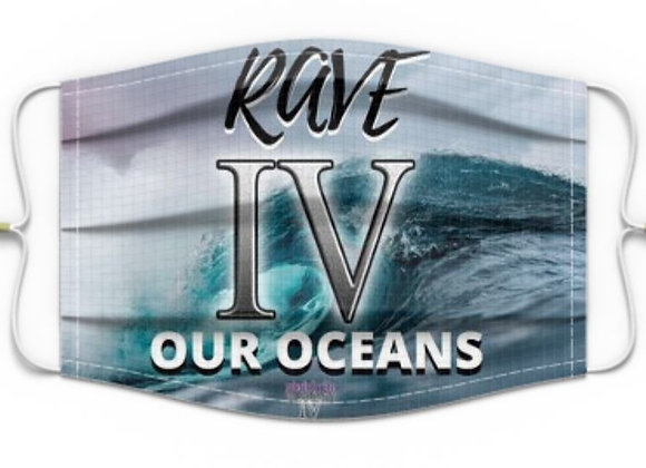 #COVIDBEATS Mask: Rave IV our Oceans