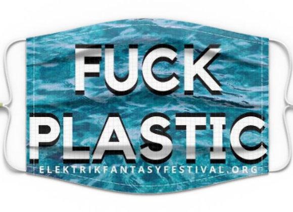 #COVIDBEATS Mask: FUCK PLASTIC
