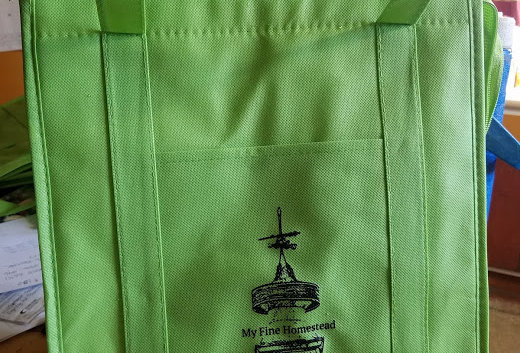 Lightly Insulated Tote with MFH Logo