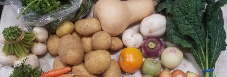 Winter Vegetable CSA Share