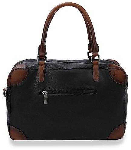 Two Tone Satchel Handbag