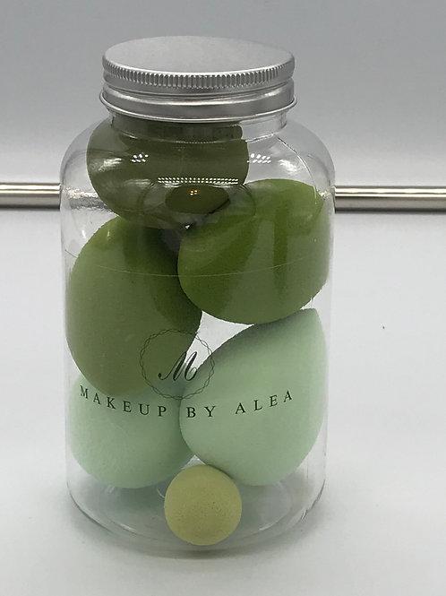 Beauty Blenders in a Jar