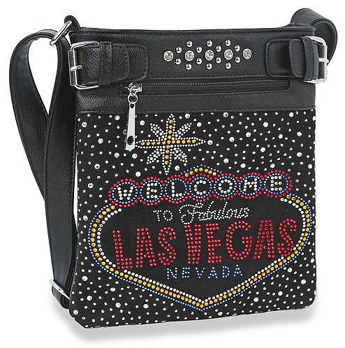 Welcome To Las Vegas Crossbody Sling
