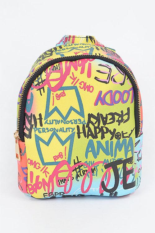 Graffiti Mini Backpack