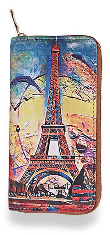 Eiffel Tower Accordion Wallet