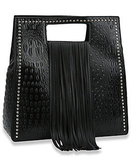 Fringe Handle Tote