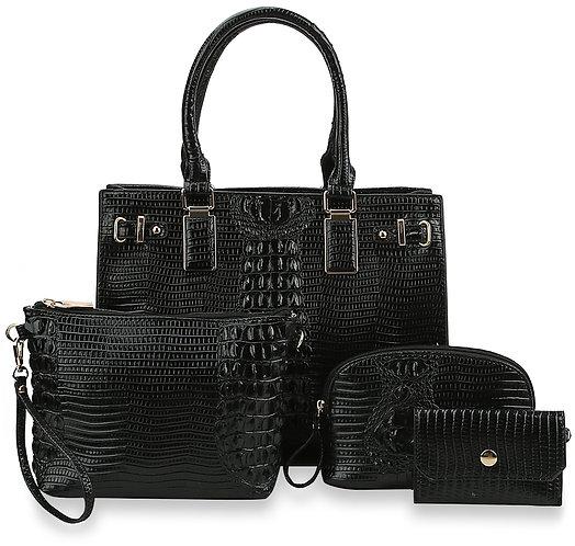 Incredible Four Piece Handbag Set