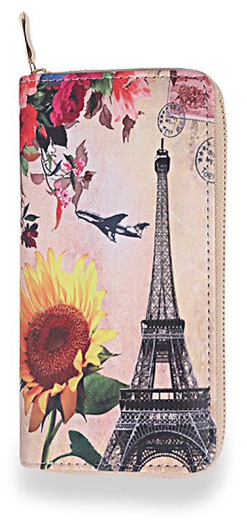 Eiffel Tower Multi Accordion Wallet