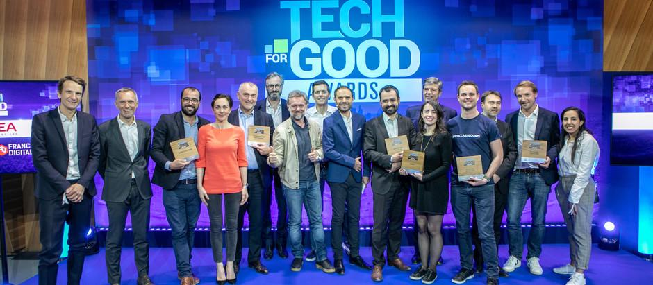 Découvrez les lauréats des Tech For Good Awards 2019