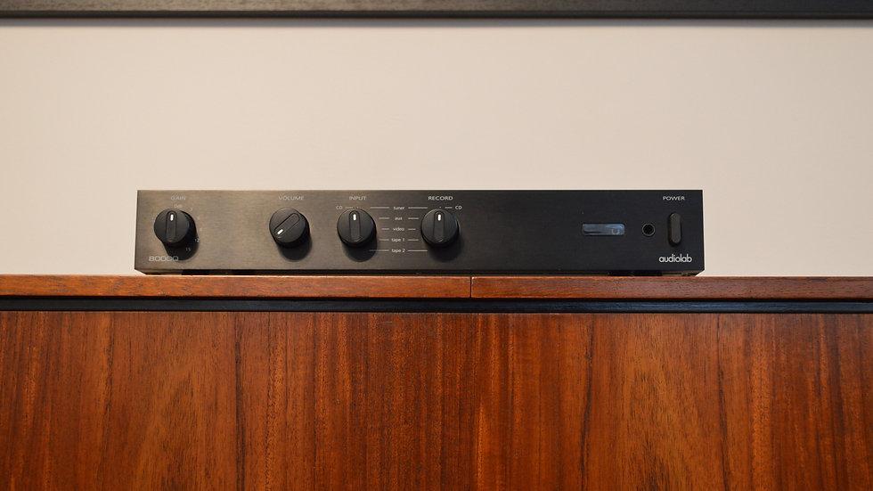 Audiolab 8000Q preamplifier