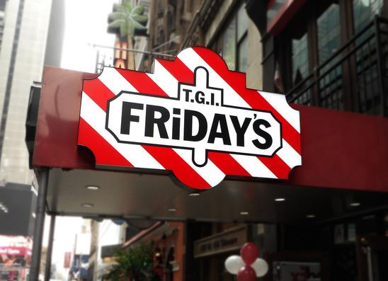 TGI Fridays Light box.jpg